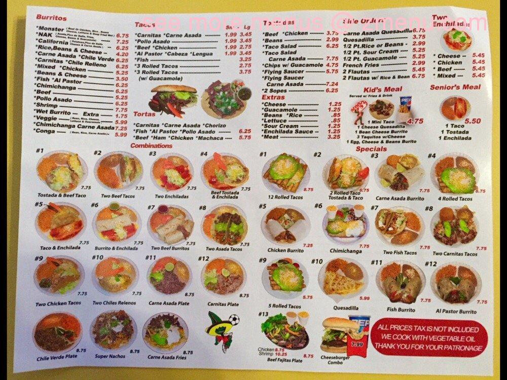 jilbertos menu