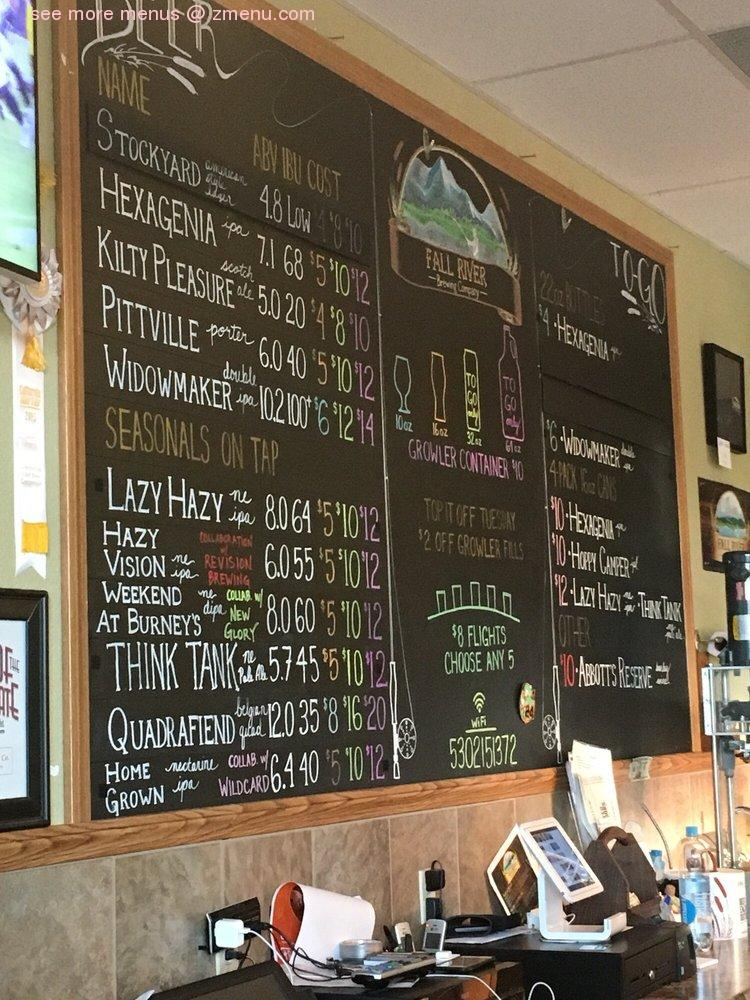 Online Menu of Kaleidoscope Coffee Company Restaurant