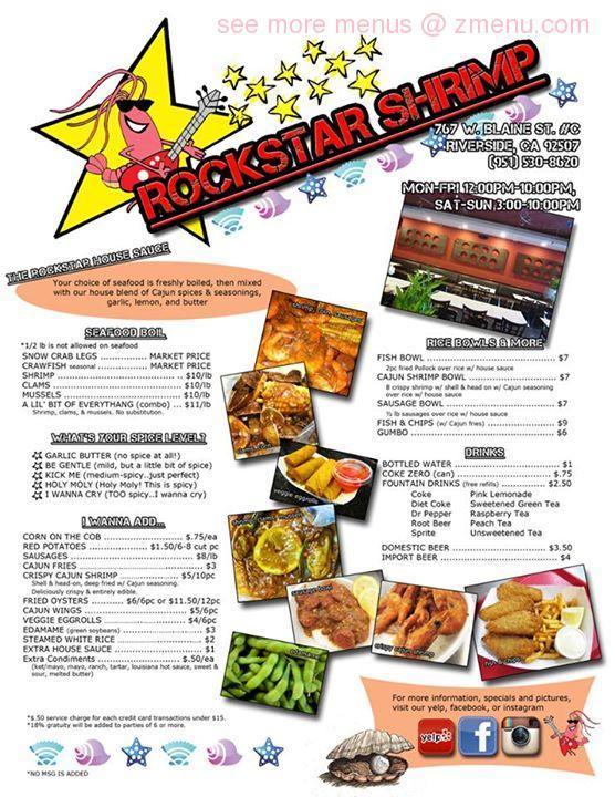Fast Food Riverside Hours