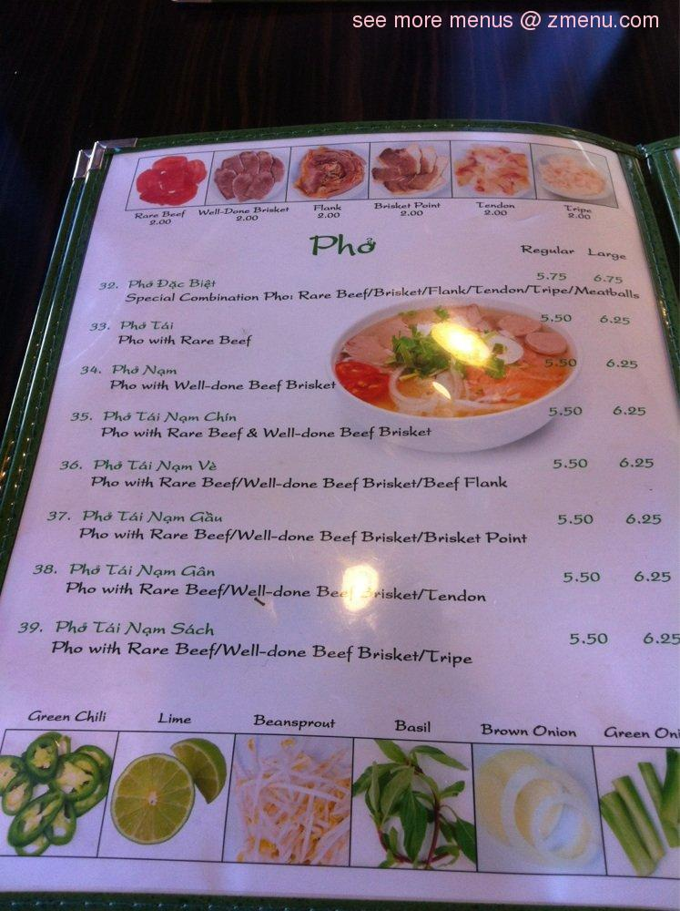 Online Menu of Pho Super Bowl Restaurant, Diamond Bar