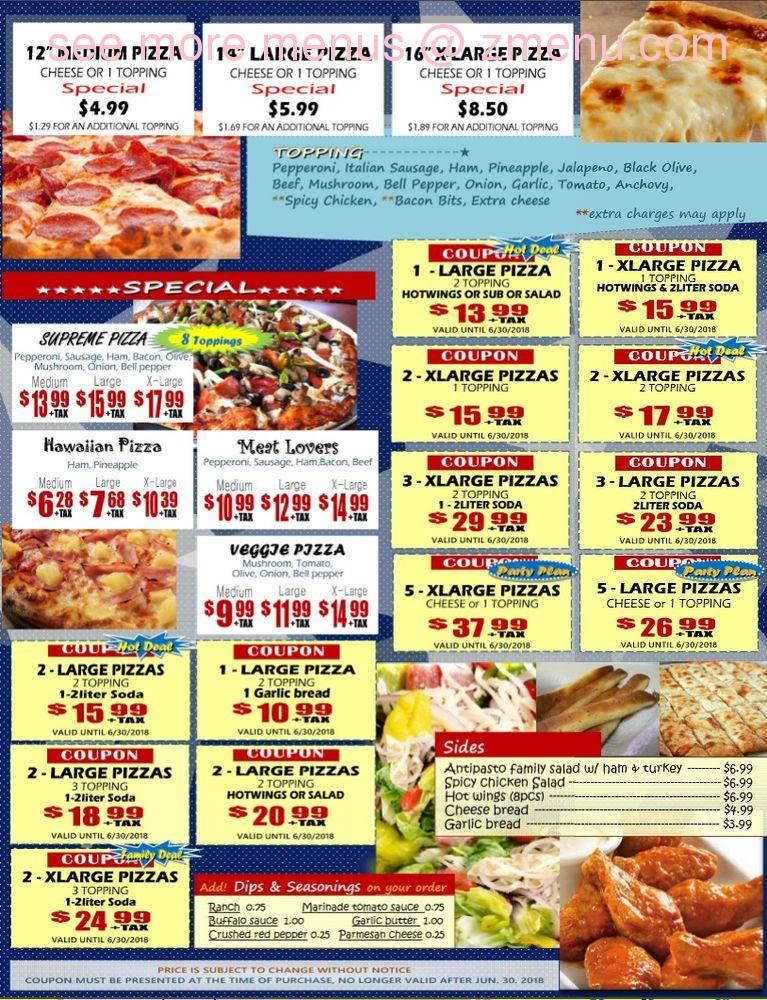 Gino's Pizza Information and Shopping Tips: