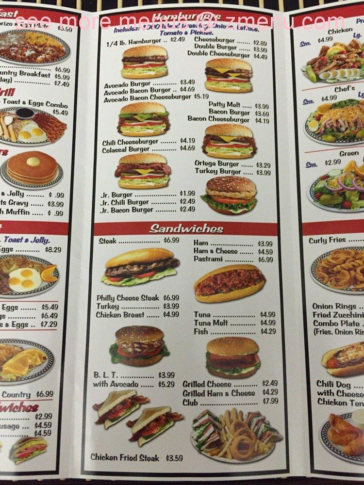 Tams Near Me >> Online Menu Of Tams Burgers Restaurant Rialto California