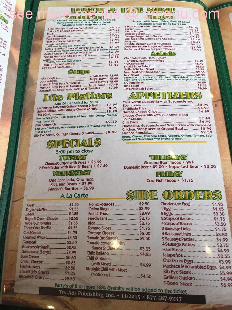Online menu of little green onion restaurant riverside for Angel thai cuisine riverside ca