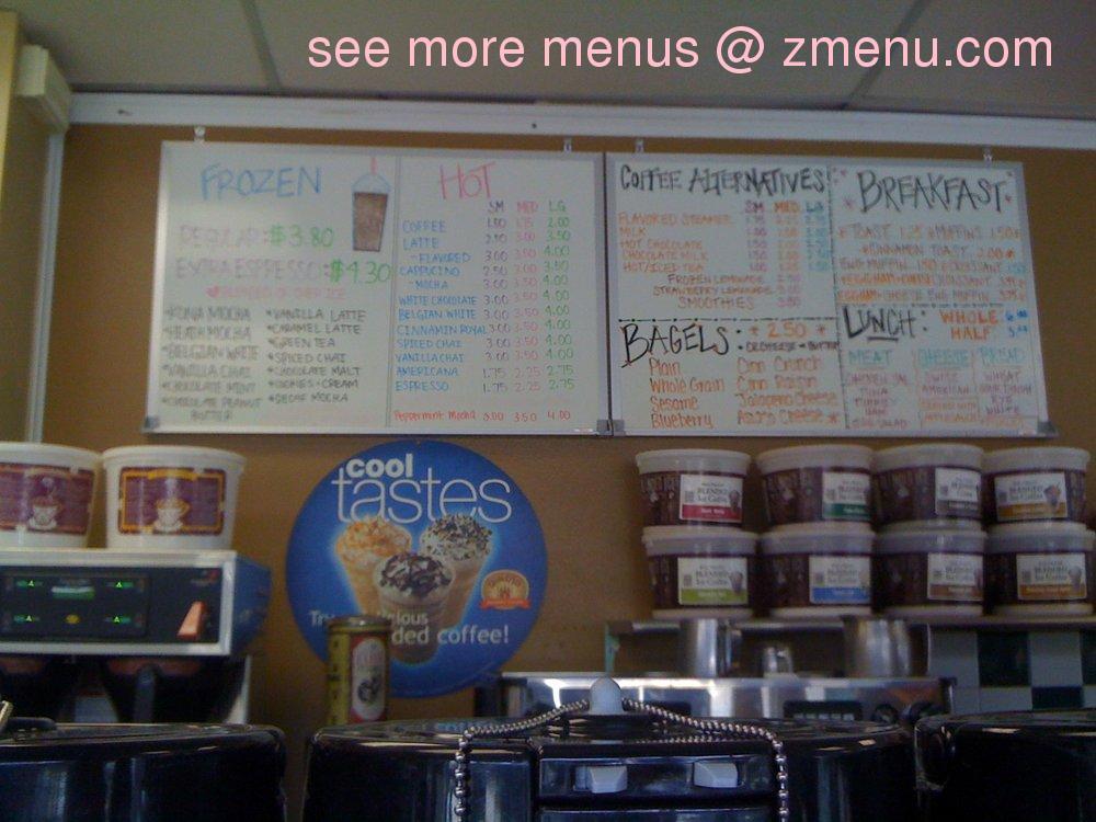 Online menu of kraemer 39 s coffee bistro restaurant for Angel thai cuisine riverside ca