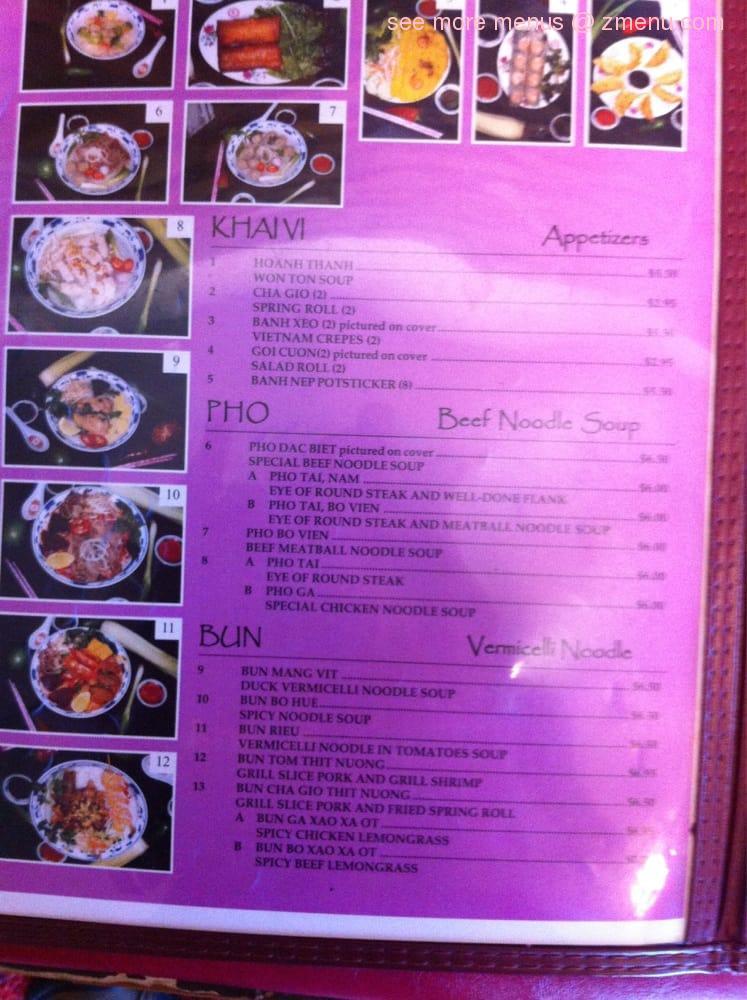 Online Menu Of Vietnam Restaurant Restaurant Eugene Oregon 97402