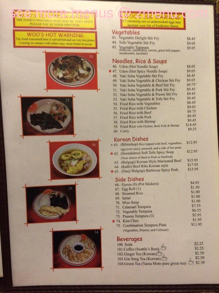 Lao Kitchen Richland Menu