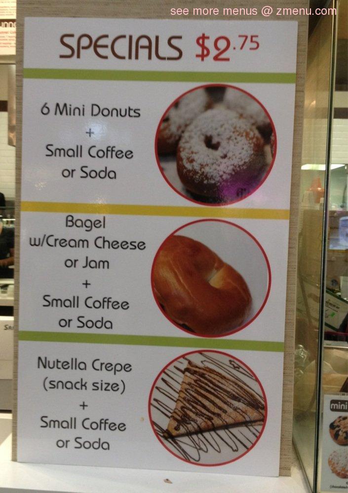 Island Squeeze Cafe Menu