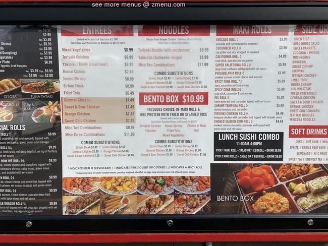 Online Menu of Miso Teriyaki House Restaurant, Johnson ...