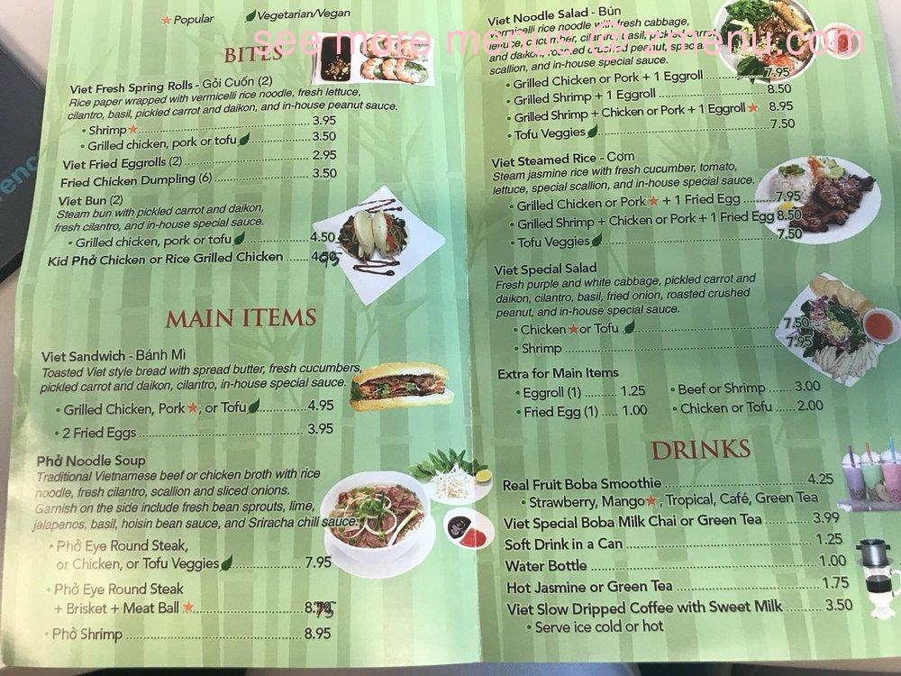 Online Menu of Pho Bowl Restaurant, Clearwater, Florida