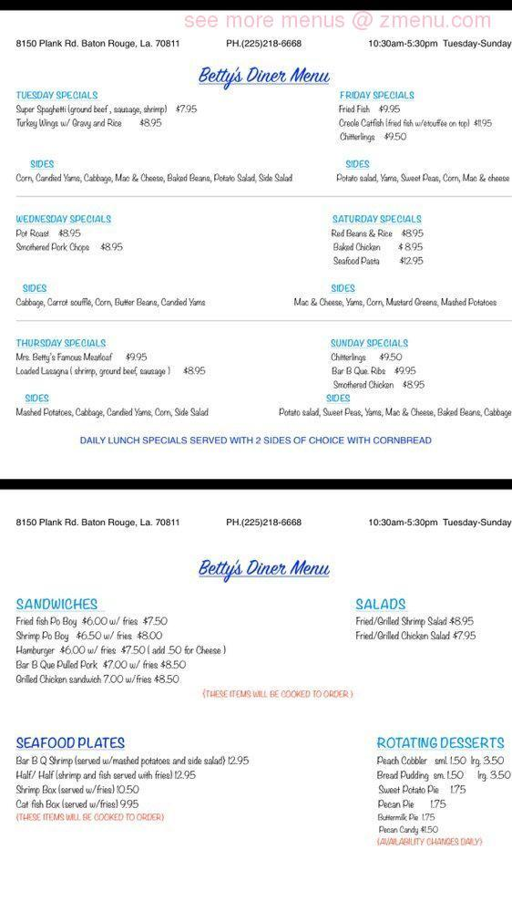 Hook up seafood baton rouge menu