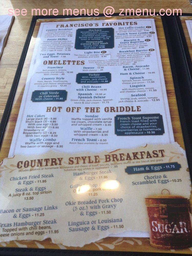 Country Kitchen Restaurant Menu online menu of country kitchen cafe restaurant, arroyo grande