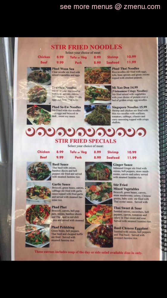 Online Menu Of Viet Thai Bistro Restaurant Alexandria Louisiana 71301 Zmenu