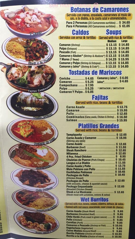 Online menu of casa adelita 3 restaurant la habra california 90631 zmenu - Casa doli restaurante ...