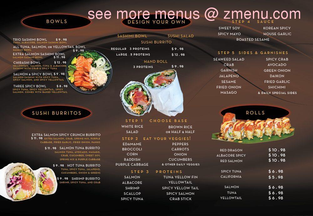 Online Menu Of The Good Fish Restaurant Fullerton California