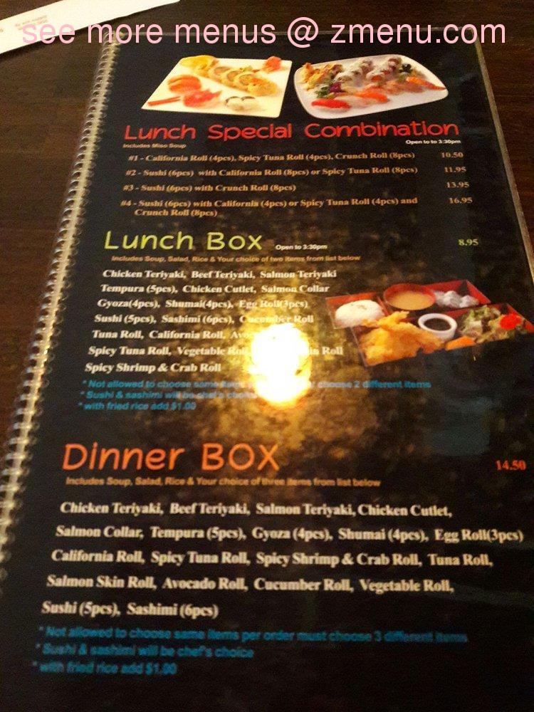 Online Menu Of Red Salmon Restaurant Lancaster California 93536