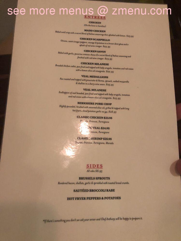 Online Menu Of Pucciarellos Italian Kitchen Restaurant East