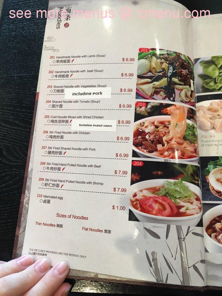 Online Menu Of Lucky Noodle Restaurant San Antonio Texas 78216 Zmenu