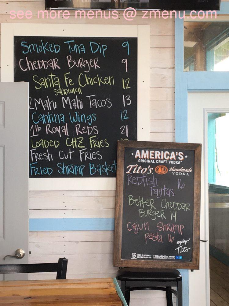 Online Menu Of The Blind Tiger Biloxi Beach Restaurant