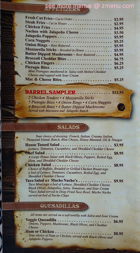 cracker barrel menu with prices and pictures