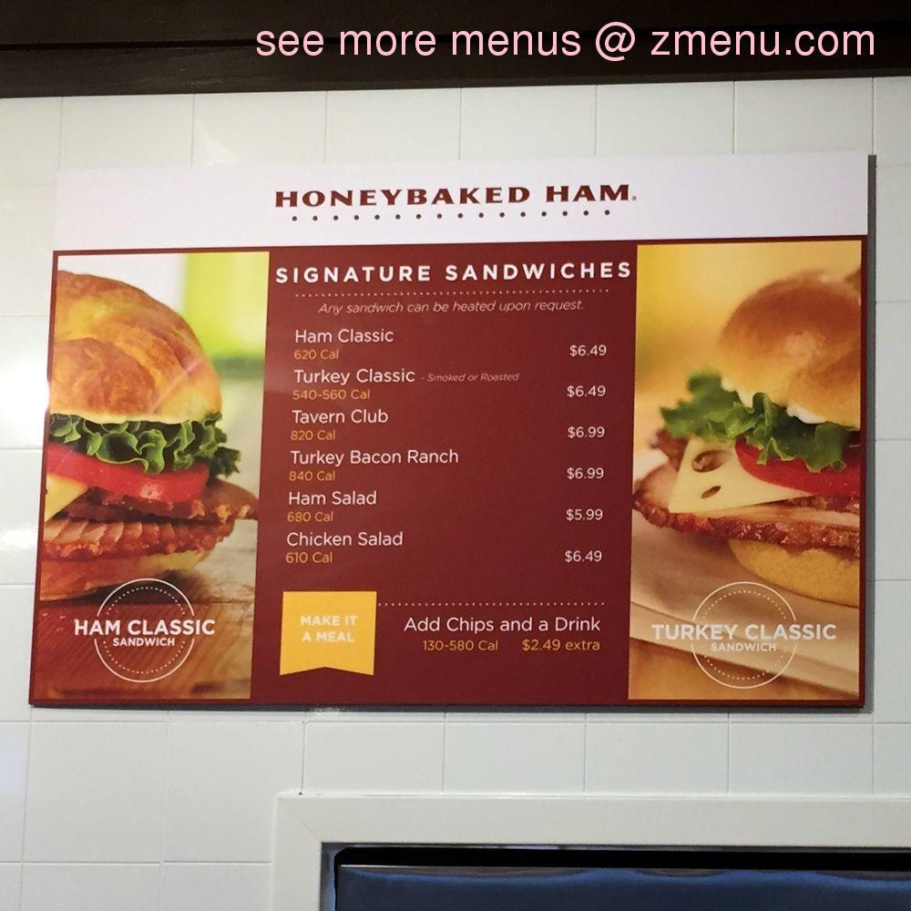 Online Menu Of HoneyBaked Ham Restaurant Olathe Kansas 66062