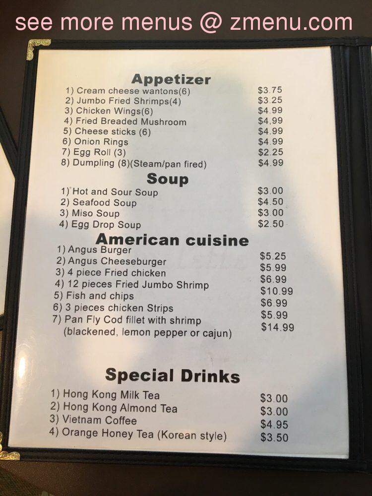 Online Menu Of International Kitchen Restaurant Aberdeen South Dakota 57401 Zmenu