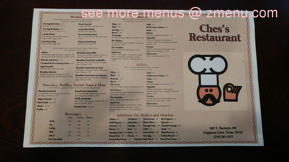 Online Menu Of Chess Restaurant Closed Restaurant Copperas