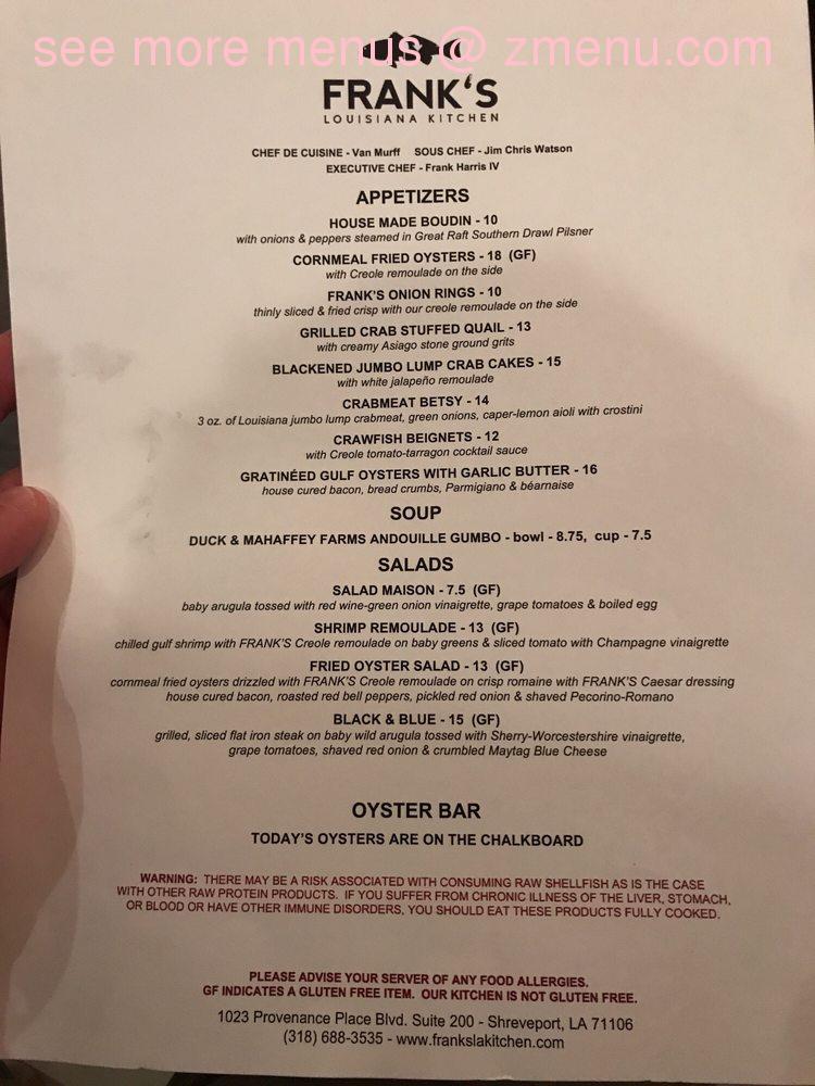Louisiana Pizza Kitchen Prices