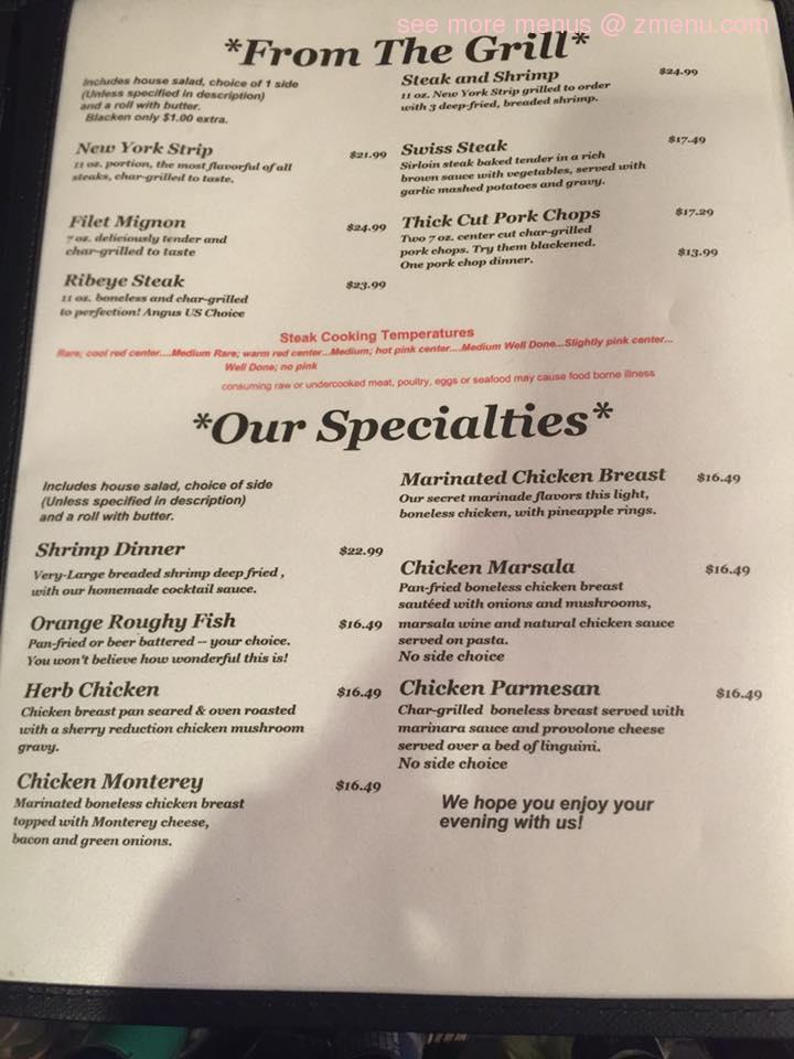 Online Menu Of Florentine Restaurant Restaurant Germantown Ohio