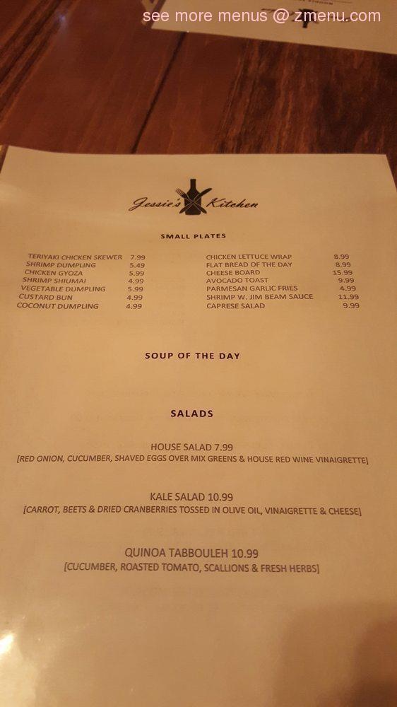 Online Menu Of Jessies Kitchen Restaurant Leonardtown