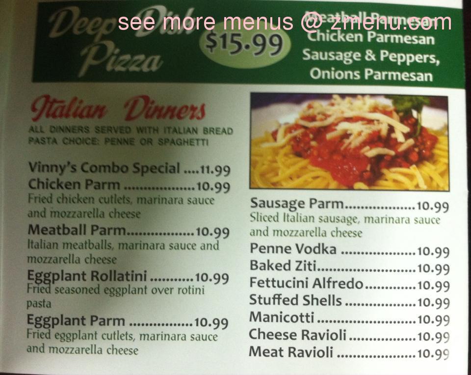 Online Menu of New York City Pizza Restaurant, Gloversville, New ...
