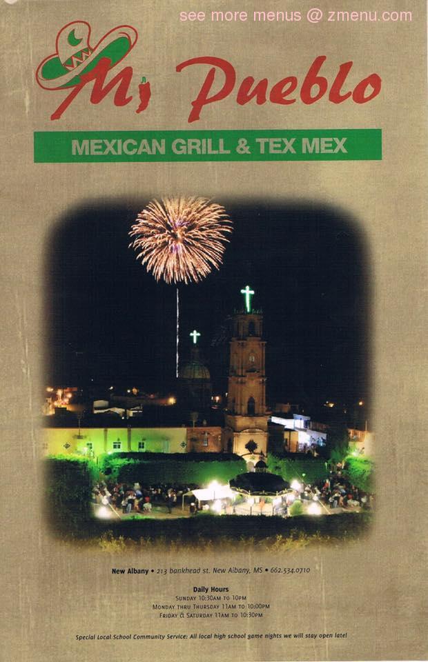Mi Pueblo Mexican Grill Tex Mex