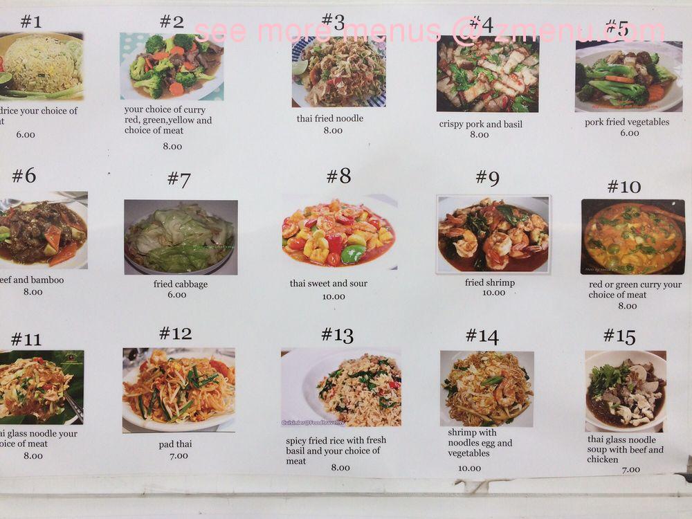 Online Menu Of Kannikas Thai Food Restaurant Ontario Oregon