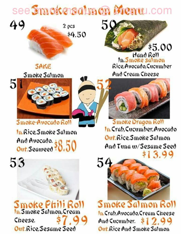Online Menu Of Sushi King Closed Restaurant Safford