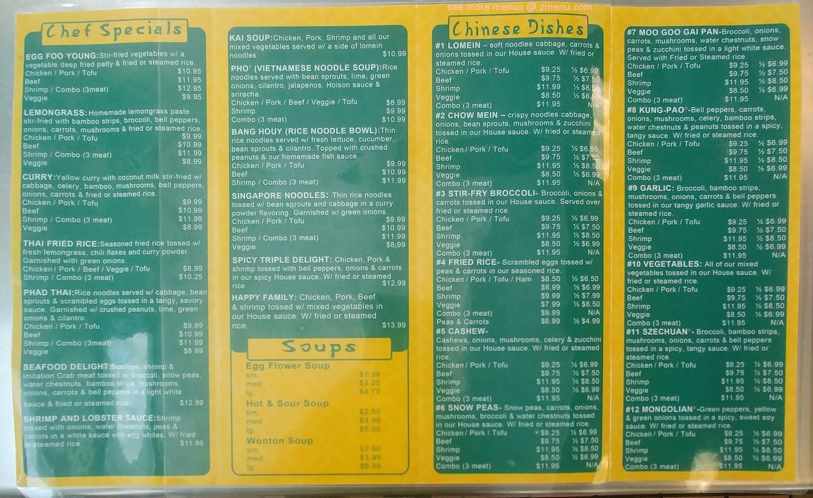 Online Menu Of Kans Kitchen Restaurant Pueblo Colorado 81005 Zmenu