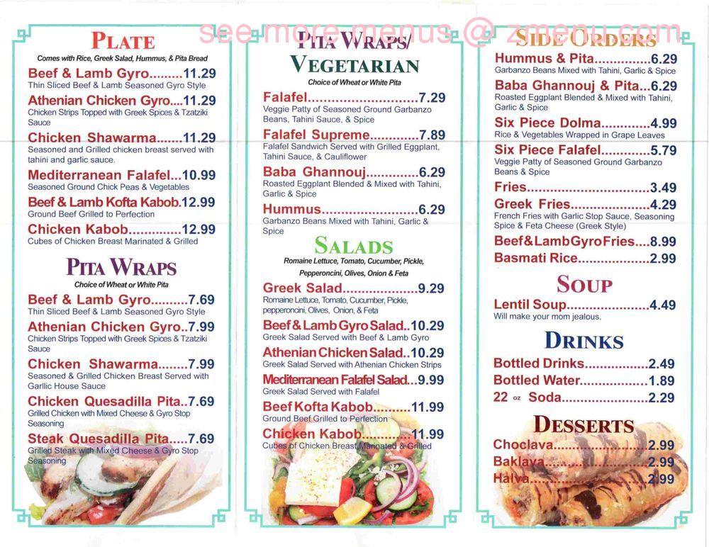 Online Menu Of Gyro Stop Restaurant Lake Stevens Washington 98258 Zmenu Gyro meat, egg, american cheese, lettuce, tomato & onion. online menu of gyro stop restaurant