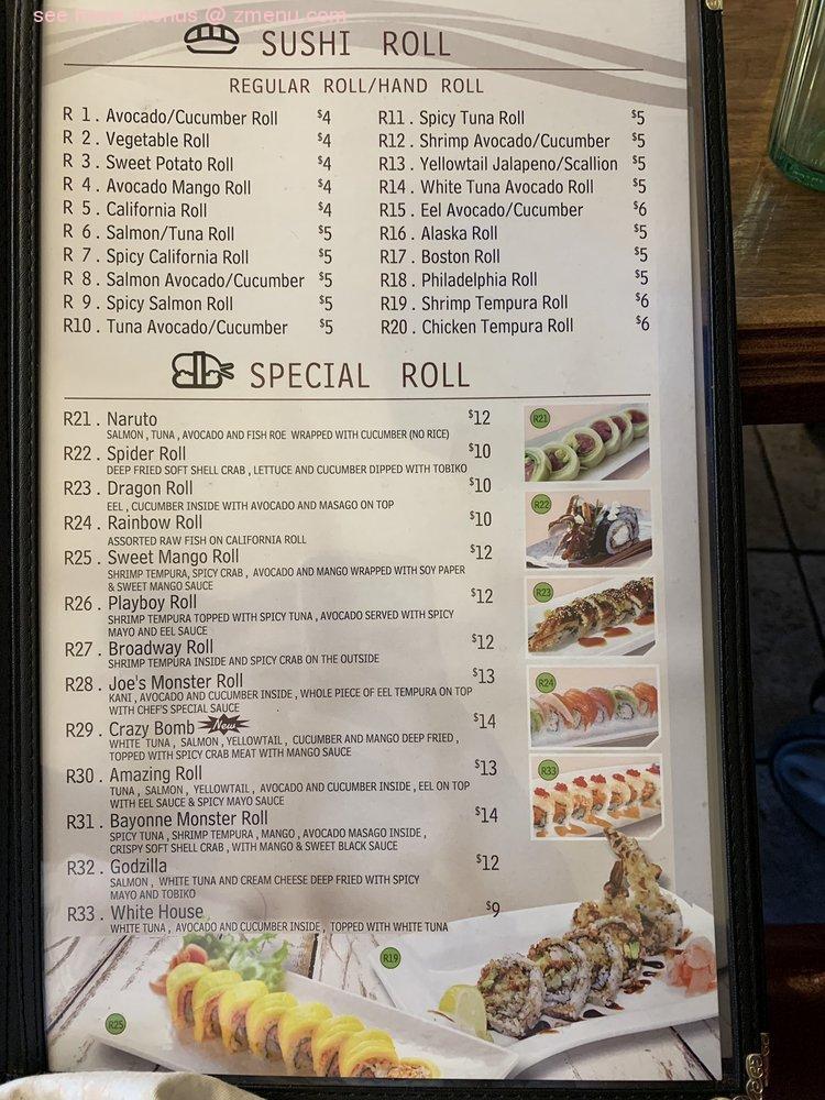 Online Menu Of Joes Kitchen Restaurant Bayonne New Jersey 07002 Zmenu