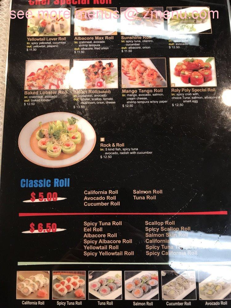 Online Menu of Miso Sushi & Grill Restaurant, Chino