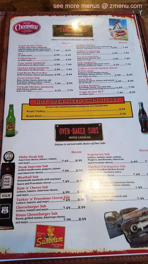 Online Menu Of Johnnys Farm House Restaurant Concord North Carolina 28025 Zmenu