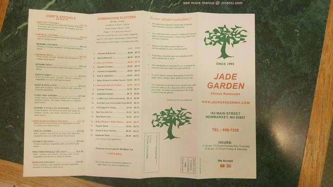 Jade Garden Newmarket Nh