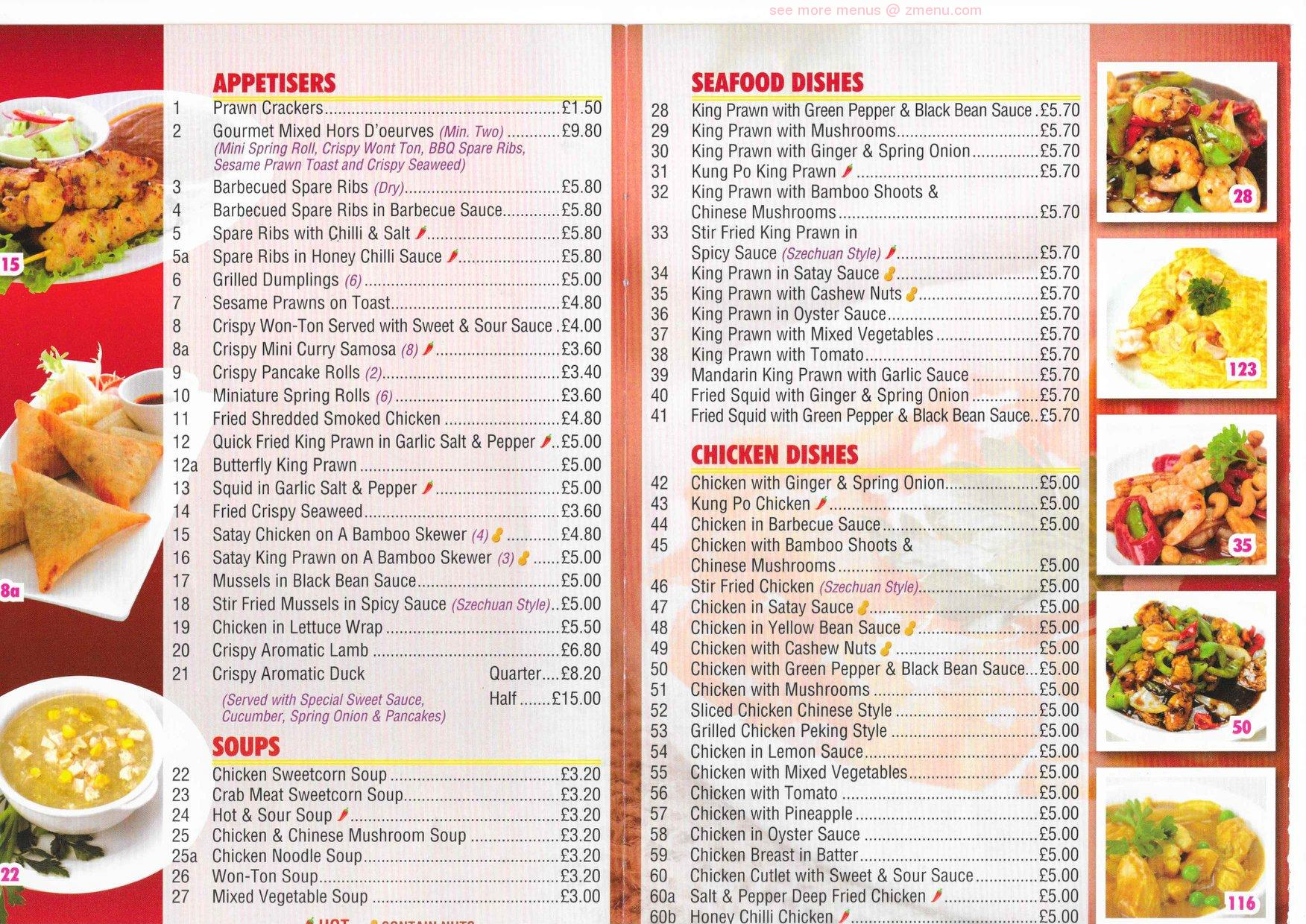 Online Menu Of China Palace Restaurant Prescot United Kingdom L34 5sb Zmenu