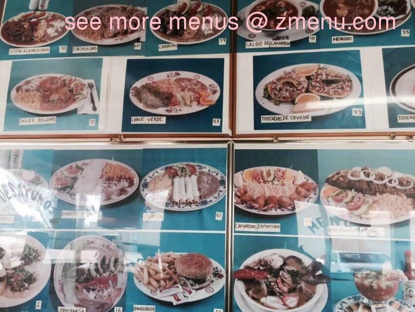 Online Menu Of Taqueria El Grullense Restaurant Morgan Hill California 95037 Zmenu