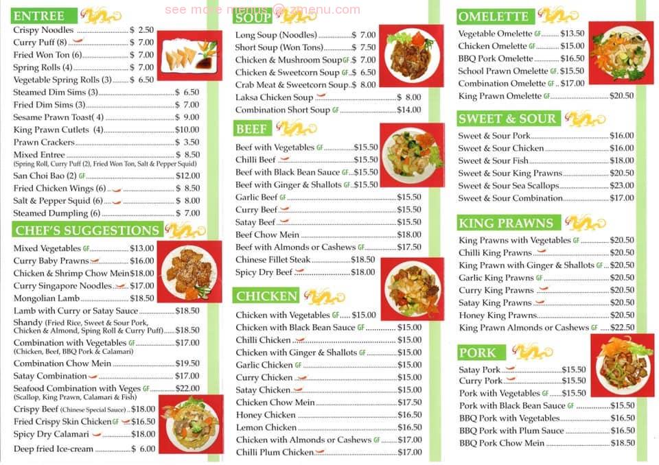 golden dragon chinese restaurant hours