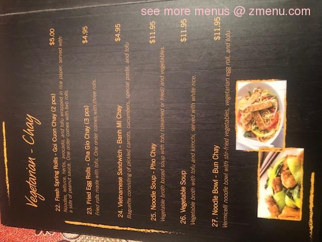 Online Menu Of Pho Kim Chi Restaurant Lackawanna New York 14218 Zmenu