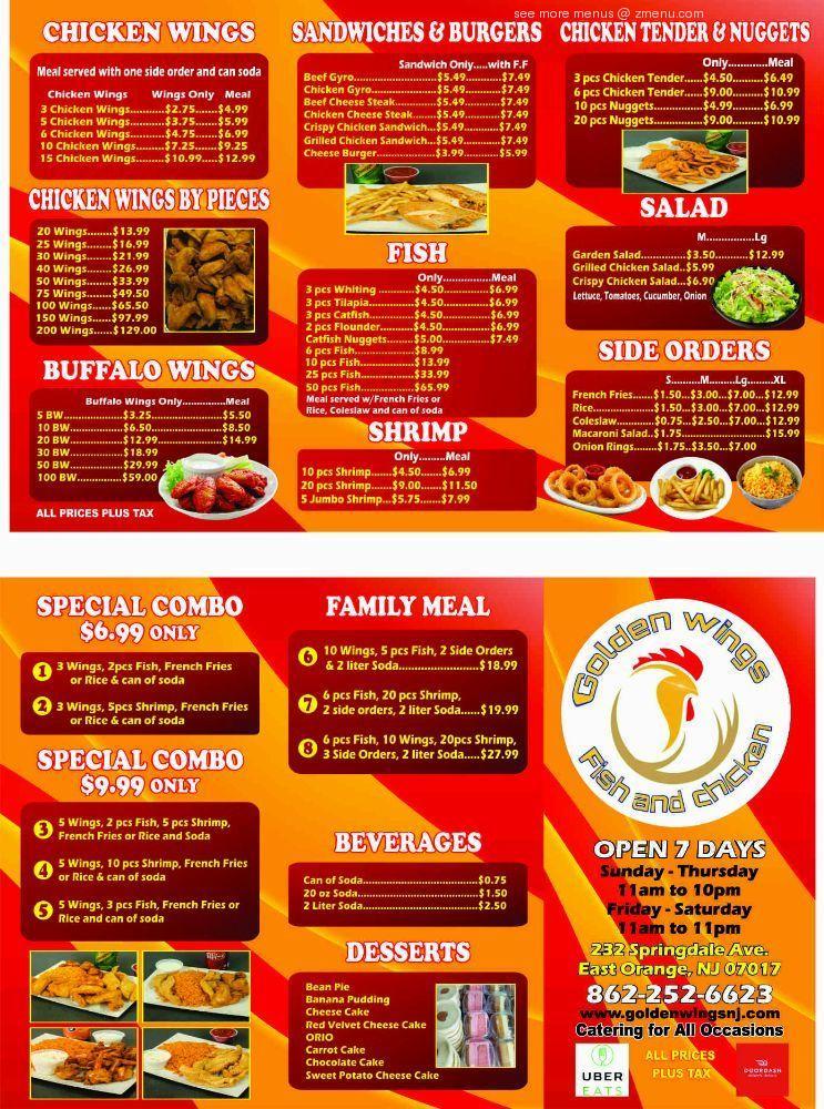 golden dragon east orange nj menu