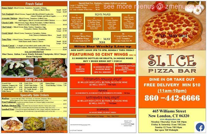 Dj Pizza Kitchen Menu