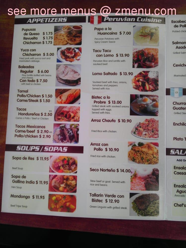 Online Menu of Perlas Restaurant Restaurant, Beltsville, Maryland