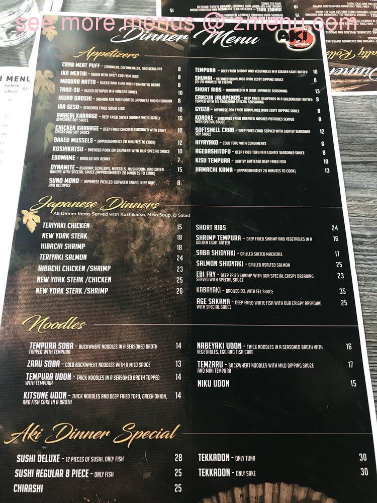 Aki Sushi | Order Online | New York | BeyondMenu