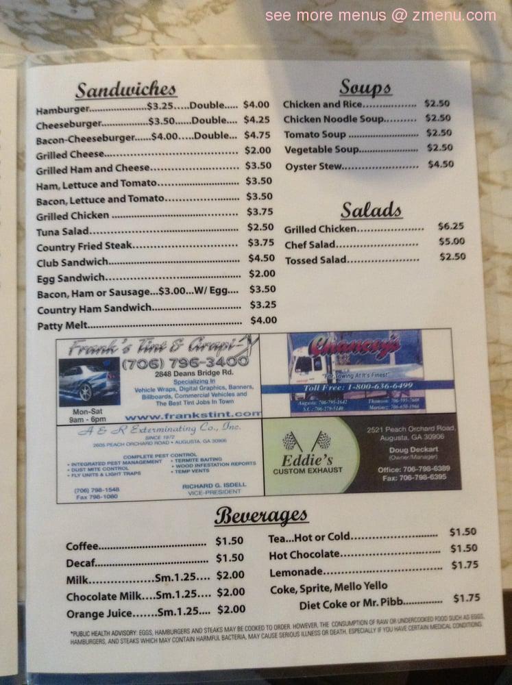 Restaurants On Peach Orchard Road Augusta Ga