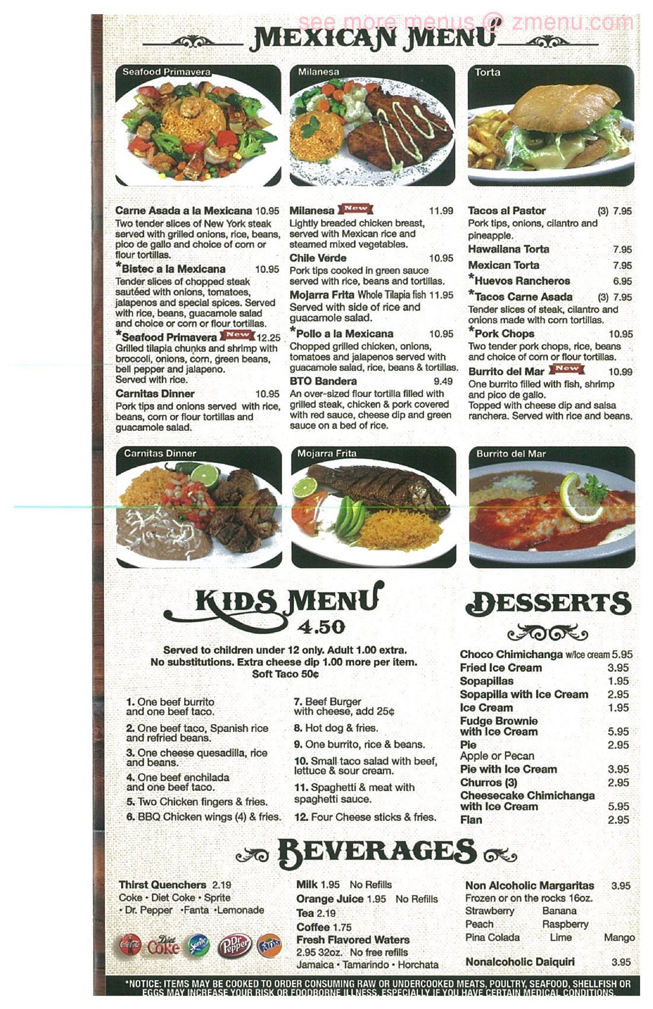 La Cabana Mexican Restaurant Cochran Ga