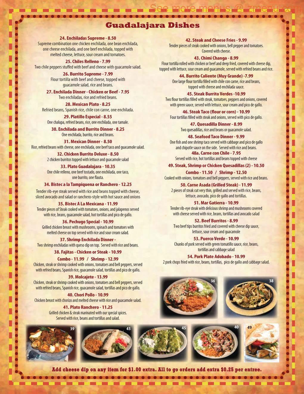 Mexican Food In Georgia